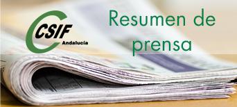 Resumen de prensa | CSIF-A