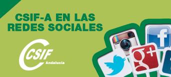 CSIF-A, en las redes sociales