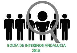 bolsa trabajo interinos Andalucía