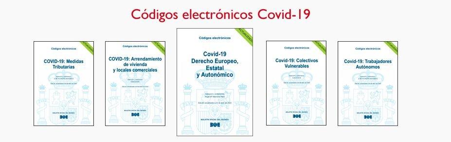 Códigos electrónicos BOE COVID-19