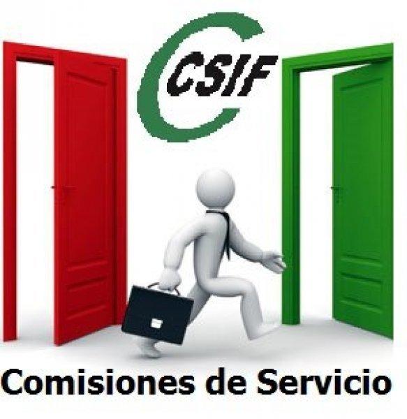 COMISIONES DE SERVICIO DE JUSTICIA EN ANDALUCÍA