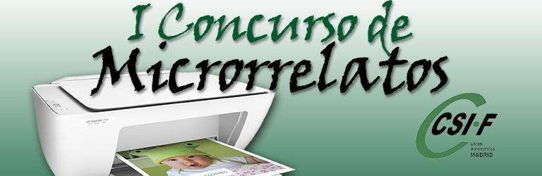I Concurso Microrrelatos CSIF Madrid