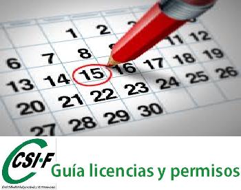 vacaciones licencias y permisos