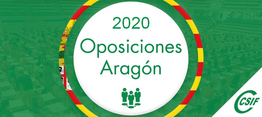 OPOSICIONES ARAGÓN 2020