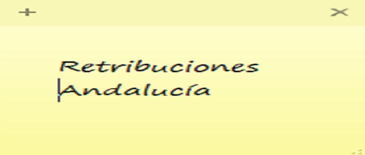 retribuciones personal de Justicia en Andalucia