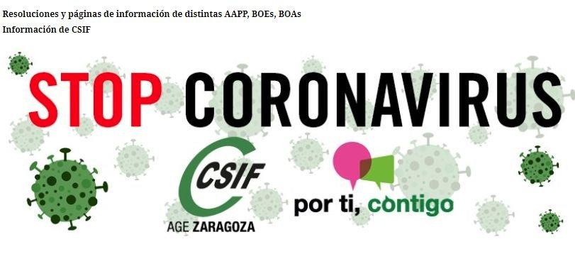 """CORONAVIRUS, ESTADO ALARMA y """"NUEVA NORMALIDAD"""""""