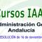 Cursos I.A.A.P. impartidos por CSIF para Personal de la Administración General de la Junta de Andalucía