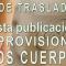 Fecha prevista publicación resolución PROVISIONAL del Concurso de Traslados 2017-2018