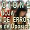 Publicadas en BOJA las correcciones de errores en las convocatorias de las Oposiciones 2018