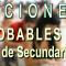 FECHAS PROBABLES DE TODO EL PROCESO DE LAS OPOSICIONES DE SECUNDARIA, FP Y ERE´s