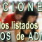 Publicados los listados DEFINITIVOS de admitidos y excluidos en las Oposiciones de Secundaria, FP y ERE´s