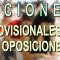 Listado PROVISIONAL de MÉRITOS para las Oposiciones 2018