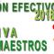 Publicada la Adjudicación DEFINITIVA del Cuerpo de Maestros para el Curso 2018-2019