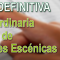 Resolución DEFINITIVA de la Bolsa Extraordinaria de Catedráticos de Música y Artes Escénicas (27/09/2018)