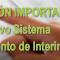 INFORMACIÓN sobre el Nuevo Sistema de llamamientos de Interinos