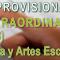 Publicados Listados PROVISIONALES Bolsa Extraordinaria Profesores de Música y artes Escénicas (30/10/2018) – Varias Especialidades