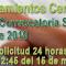 SIPRI - SEGUNDA Convocatoria semanal del llamamiento Centralizado de Interinos - (14-3-2019)