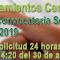 SIPRI - PRIMERA Convocatoria semanal del llamamiento Centralizado de Interinos - (29-4-2019)