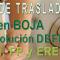Anuncio en BOJA de la publicación DEFINITIVA del CGT de Secundaria, FP y ERE´s  2018-2019