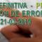Publicadas listas DEFINITIVAS y PROVISIONALES varias especialidades de la bolsa de trabajo convocada por resolución del 21 de marzo de 2019