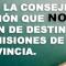 CSIF PIDE A LA CONSEJERÍA DE EDUCACIÓN QUE NO RESTRINJA LA PETICIÓN DE DESTINOS  DE LAS COMISIONES DE SERVICIO A UNA PROVINCIA.