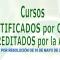 Imagen anunciando los Cursos Certificados por CSIF siendo Acreditados por la ACSA