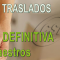djudicación DEFINITIVA del Concurso de Traslados del Cuerpo de Maestros
