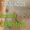 Fechas de publicación de la resolución DEFINITIVA del Concurso de Traslados 2016-2017