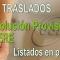 Publicada la Resolución PROVISIONAL del Concurso de Traslados de Secundaria y ERE
