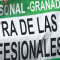 Concentración ante una nueva agresión a dos médicos del centro de salud de Pinos Puente