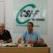 El presidente nacional de CSIF avanza los próximos retos sindicales en una reunión con delegados y representantes en Granada