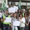 Protesta en el juzgado de San José de Cádiz el pasado 1 de junio