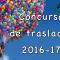 Concurso de traslados 2016