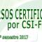 Cursos Certificados por CSIF – Programación Marzo - Mayo 2017