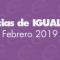 Igualdad | Noticias del mes: febrero 2019