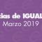 Igualdad | Noticias del mes: marzo 2019