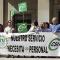 CSIF continúa sus movilizaciones ante la ausencia de nuevas contrataciones en el laboratorio del Virgen de las Nieves