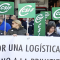 Protesta ante el intento de privatizar la plataforma logística sanitaria que abastece a centros y hospitales de la provincia