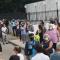 Entorno del Registro Civil de Jerez, a comienzos de semana