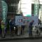 Momento de la protesta en la Delegación de Salud en Málaga