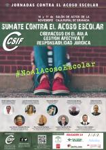 Jornada Sumate Contra el Acoso Escolar CSIF Granada