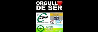 Logo CSIF editado para el dia internacional de la juventud