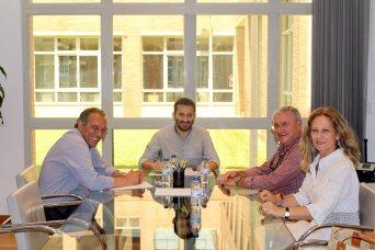 Una imagen de la reunión. Foto: Conselleria Educació