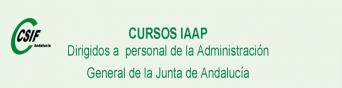 Cursos del IAAP para personal de la AGJA (1er. cuatrimestre 2020)