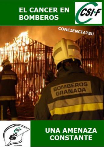 El cáncer en bomberos, una amenaza constante