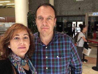 Delegados de CSIF en la dirección territorial de Educación en Valencia, hoy