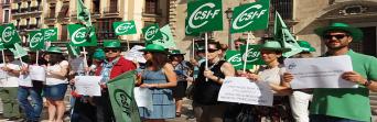 CSIF advierte de que los juzgados se colapsarán de forma inmediata sin una dotación razonable de plantilla