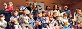 Fiesta Navidad infantil CSIF Granada 2017