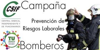 Campaña Prevención de Riesgos Laborales en Bomberos