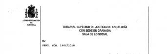 CSIF-A consigue que el TSJA reconozca por primera vez el despido improcedente de un laboral temporal de la Junta